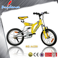 16 inch full suspension mountain bikes for young children