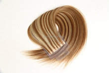 Alibaba gold supplier most popular Indian remy piano color tape hair extension