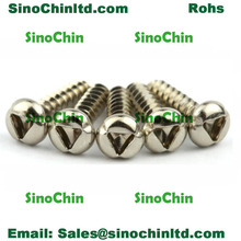 Triangle Tamper Proof Stainless Steel Screws M2 Anti Theft Screw 8mm Length