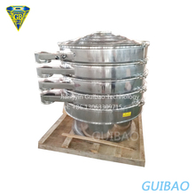 Industrial automatic electric vibrating soil flour sifter machine for sale