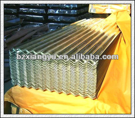 curving corrugated gi steel roof sheet