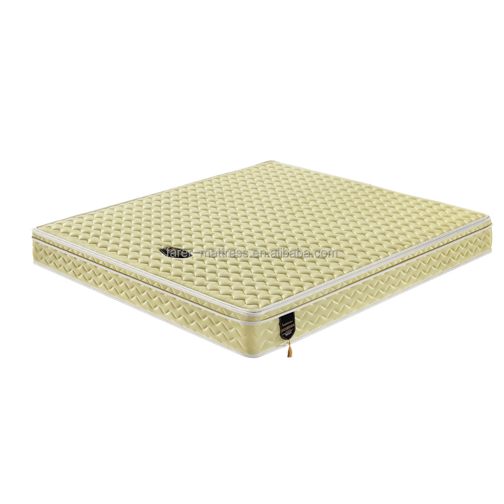 Yellow Air Mesh Fabric 3E Palm Inner Spring Mattress - Jozy Mattress | Jozy.net