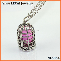 Wholesale new Pregnancy Musical birdcage bola bead diffuser necklace