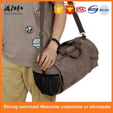 Professional canvas men leisure outdoor folding travel bag