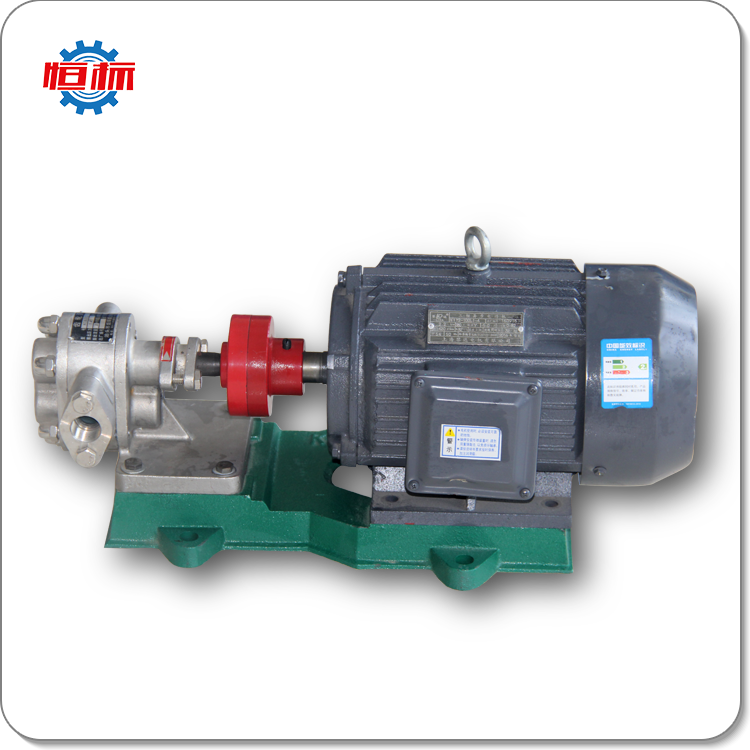 kcb products stainless steel gear driven pump for oil transfer