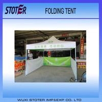 Aluminum Folding tent with digital printing instant tent with side wall