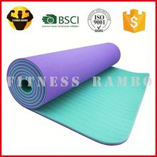 RAMBO Manufacturer 2-Tone Tpe Recycled Pro Fit Outdoor Play Yoga Mat