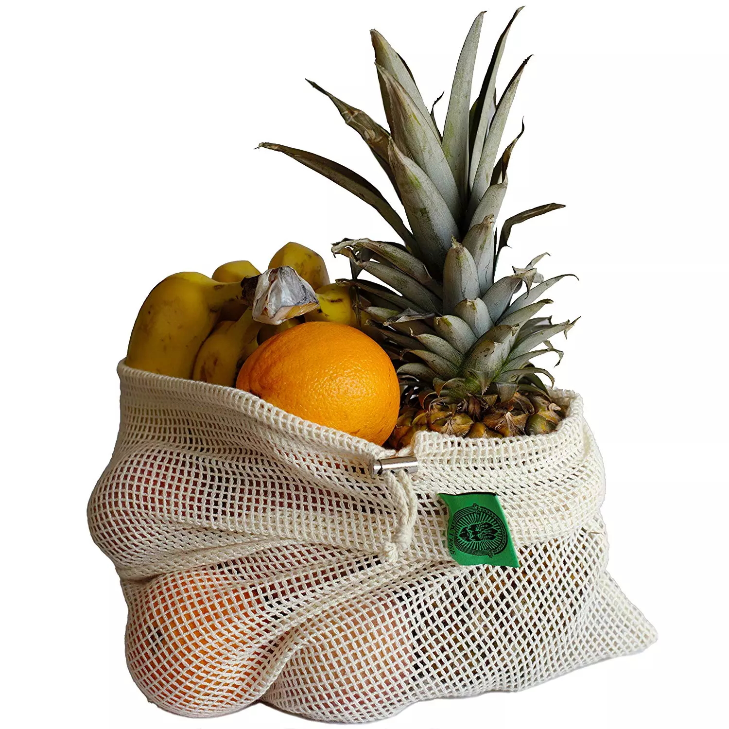 Reusable Beeswax Wrap and Mesh Produce Bag Bundle - 3 Pack Food Storage Wrap +3 Mesh Produce  Bags - Eco-Friendly, Plastic free