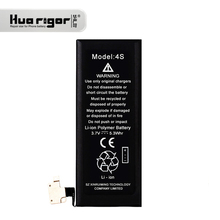 Accept OEM/ODM Standard Rechargeable Cell Phone 3.7v Battery For Iphone 4S