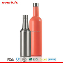 bpa free stainless steel insulated red white bottle wine for drinking