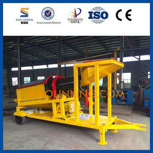 High efficient small compost screen trommel for sale in China