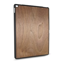 PC wood chip case real wood back cover nature housing for iPad
