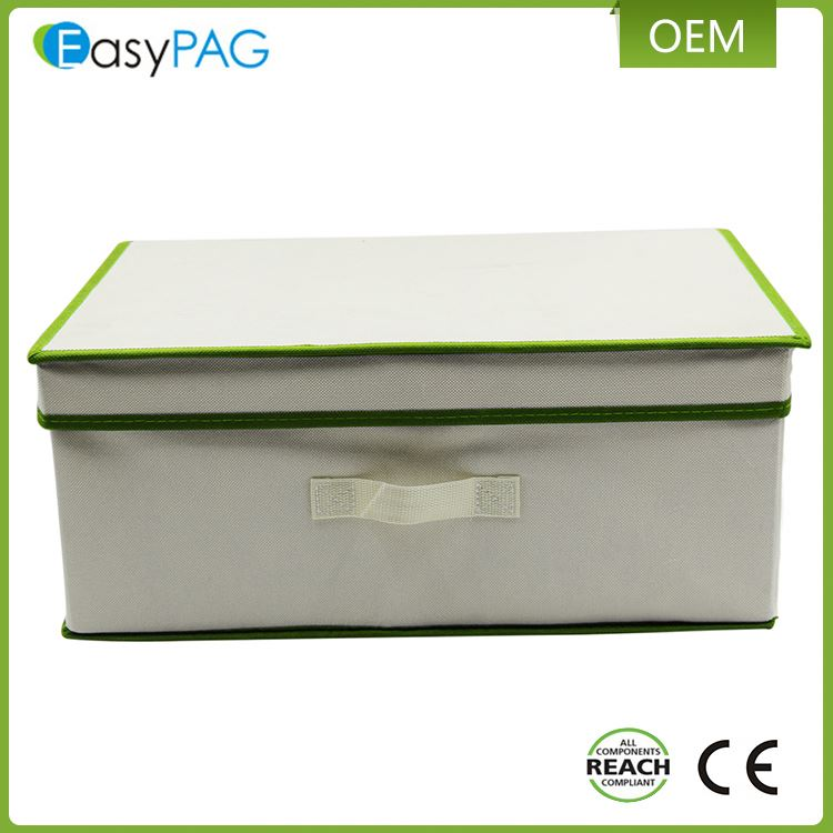 New arrival eco-friendly non woven fabric foldable outdoor storage box