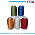 100% 120D/2 polyester embroidery thread dope dyed filament 4000m