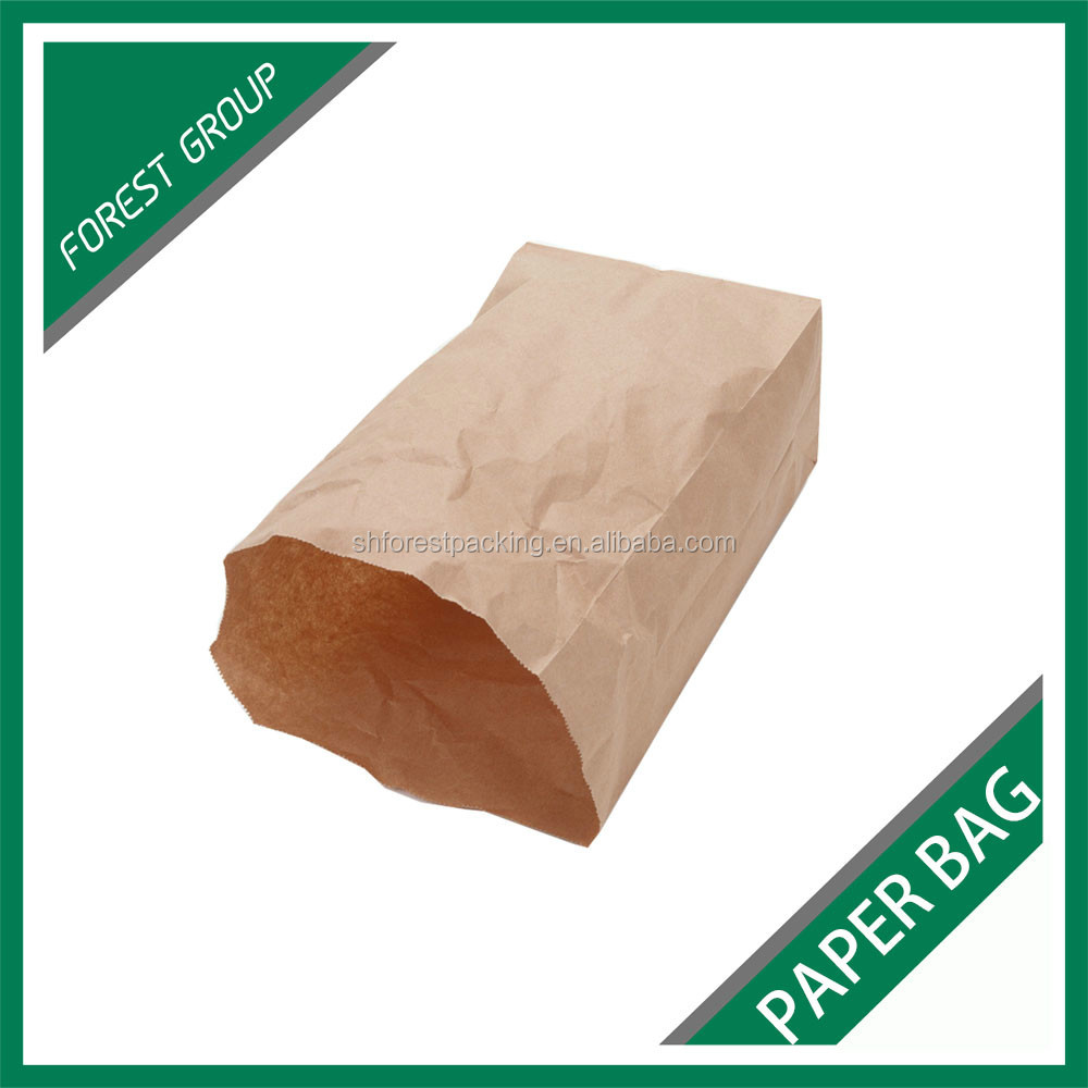 RECYCLABLE FOOD GRADE SNACK PACKING PAPER BAGS MADE IN CHINA