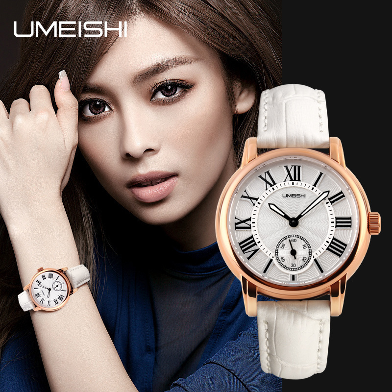 luxury movt genuine leather ladies fashion watches trendy