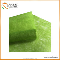 Colored long fiber wed non woven fabric flower wrapping or gift packing