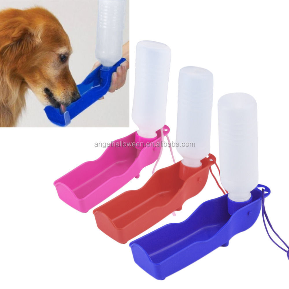 Portable automatic pet dog Rabbit Drinking Bottle water feeder 500ML Q AC5788