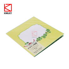 Customized Signature Plate Art Supplies Colored Paper signature book