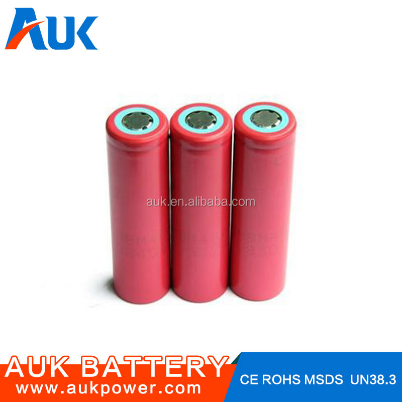18650 3.7v Battery 2500mAh High Performance Rechargeable Battery For Mechanical Mods
