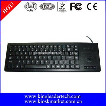 Customized Industrial USB Keyboard with Trackball