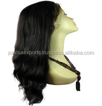 pure indian remy human hair waft