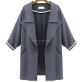 Fashion clothes women thin knitting autumn women's coat