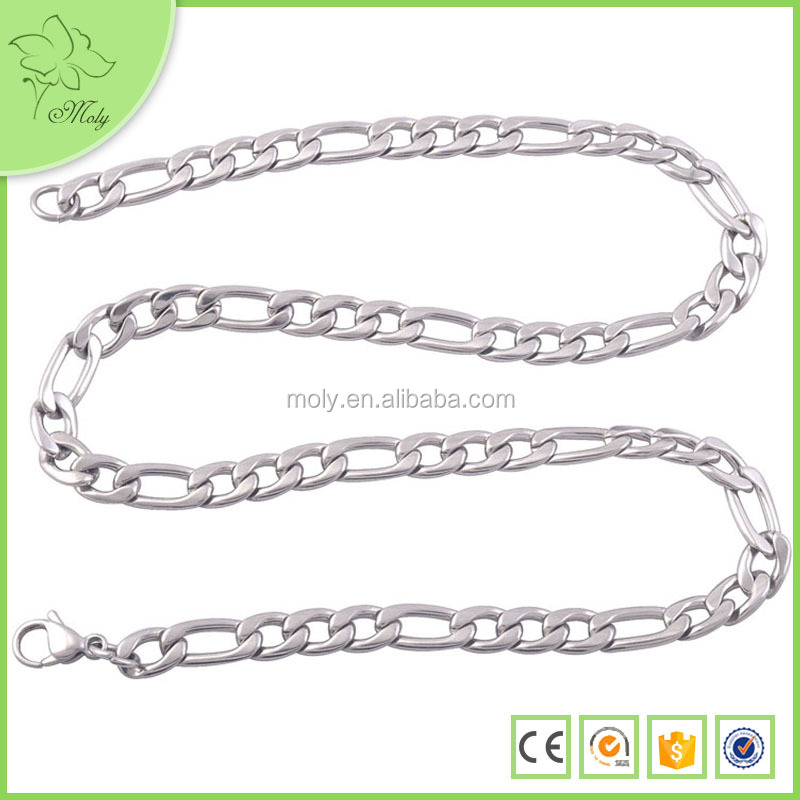 2015 Manufacture Hot Selling Silver Locket Necklace, New Design Silver Chain for Men