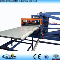 Continuous PU polyurethane sandwich panel machine / production line