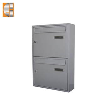GH-WT12 powder coating apartment building mailbox
