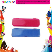 Disney Universal NBCU FAMA BSCI GSV Carrefour Factory Audit Manufacturer Cool Plastic Standing Pencil Case