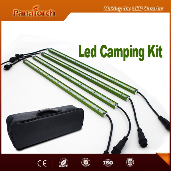 Trade assurance manufacturer emergency car repair lighting Led light bar kit widely used for outdoor adventures and camping trip