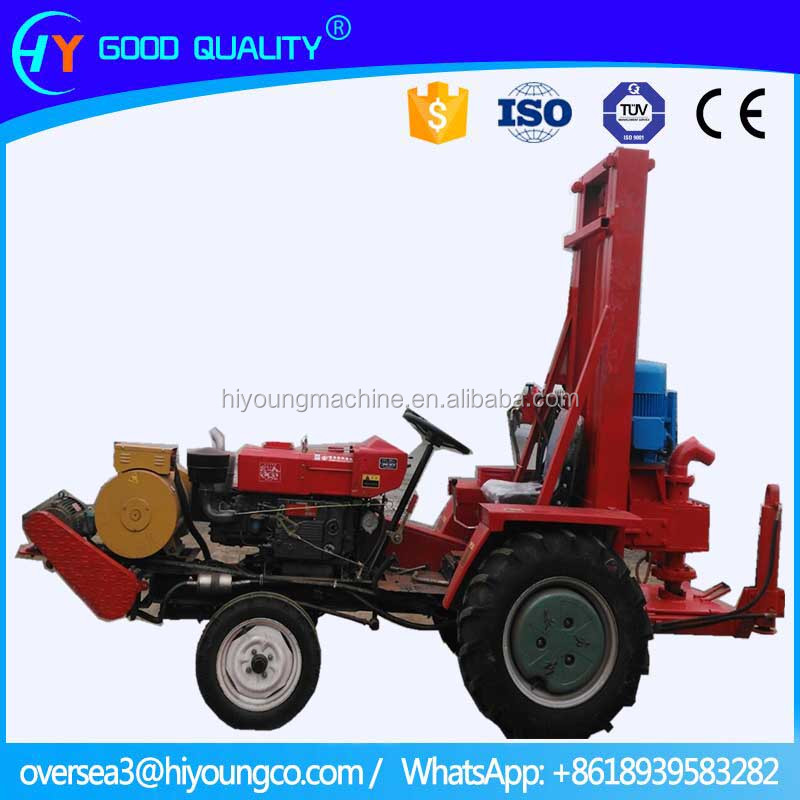 150m Portable tractor used water well drilling machine for sale
