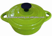 cast iron cookware/enamel casserole/cast iron enamel pot