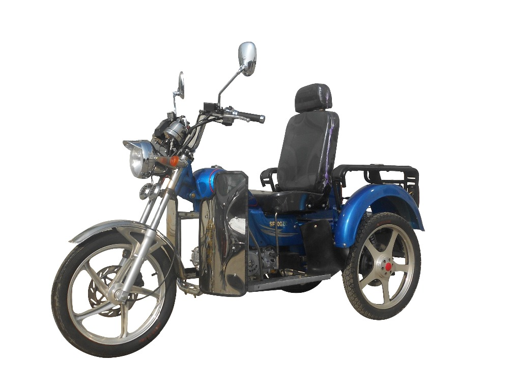 China Ducar DaJiang CQ2 three wheel motor tricycle for disabled