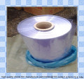 PVC shrink film ( tubing roll, cut in to sleeve, cut into bags)