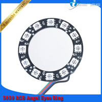 Led Maker, 18smd 70mm High Brightness Led Angel Eyes for Car