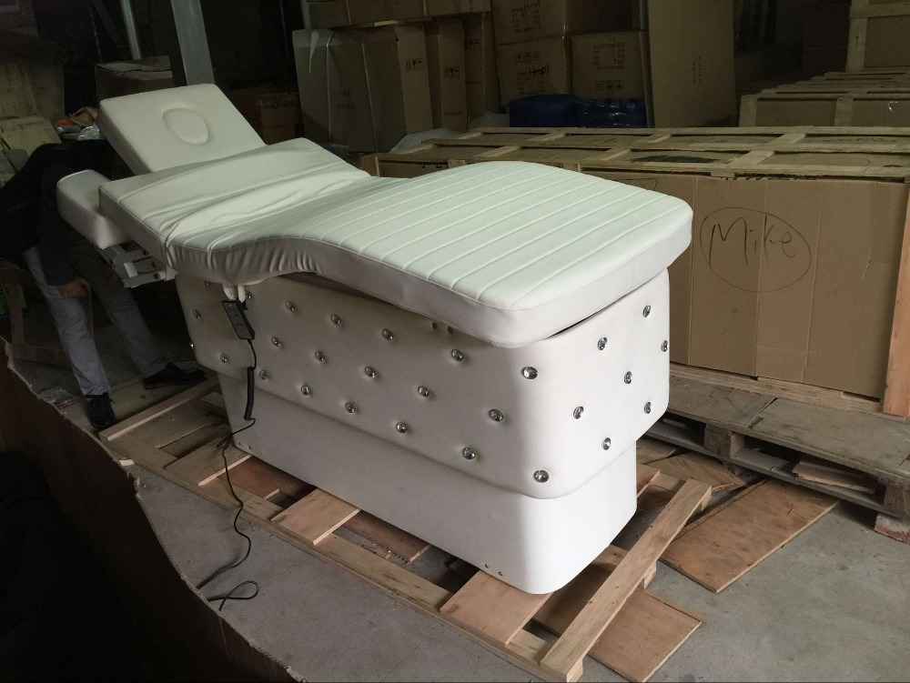 the best guangzhou Electric Lift Beauty massage Bed for beauty salon with factory price