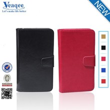 Veaqee leather mobile flip cover , leather flip case , leather magic wallet