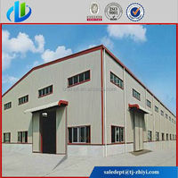Prefabricated Steel structure warehouse homes project /building/garage/poultry shed/super market
