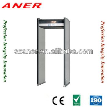 6 zones walk-through metal detector door K608,hot sale body searchi metal detector ,walk through security detector