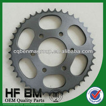 1045 Steel Bajaj Discover Pinions Galvanized Motorcycle Transmissions, Motorcycle Sprockets Bajaj China Manufactory