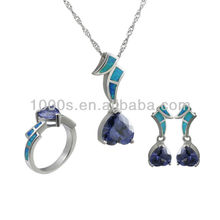 925 Sterling Silver New Design Faux Bijoux