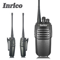 High quality Professional Inrico IP218 VHF UHF 3-8km calling distance 16 Channel Analogue handy radio transceiver