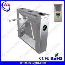 Goldantell high quality bi-directional RFID card&fingerprint turnstile, turnstile with fingerprint&RFID all in one