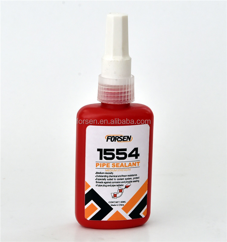 Anaerobic Pipe sealant 1554 industrial adhesive
