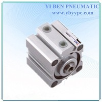 Bore 50mm SDA cushion type compact gas compressor for air pneumatic cylinder
