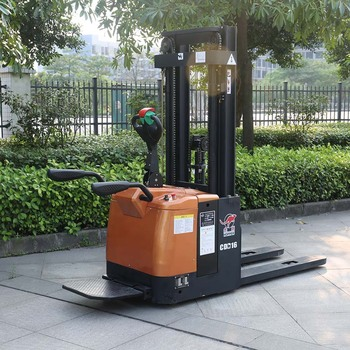 Factory price Battery Operated Powered 1.6T Electric Stacker CDD16