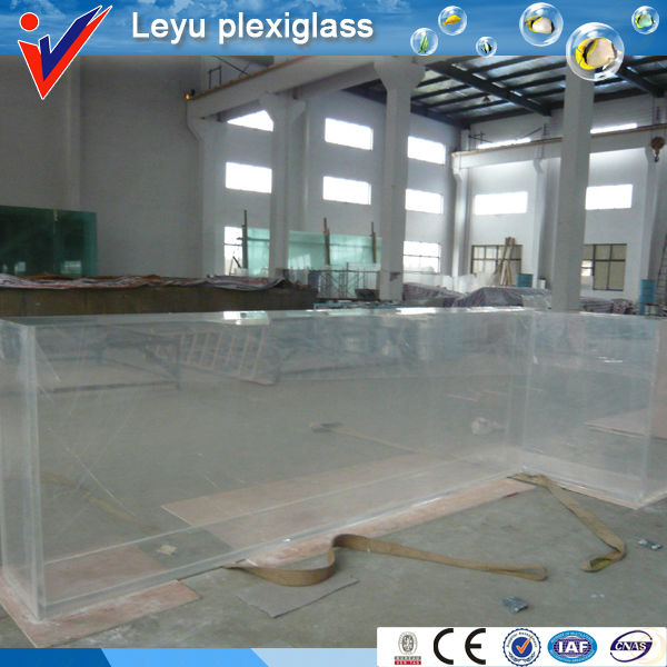 acrylic plexiglass rectangle fish tank