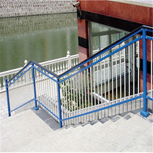 Hot-Dipped Galvanized Glass Balcony Railing Designs